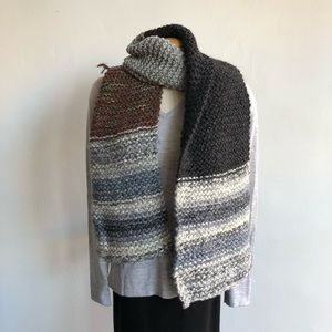 Accessories - Hand knit Chunky Scarf
